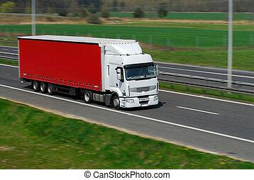 運動, 卡車