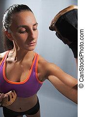 運動, 婦女, 屈曲二頭肌