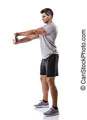 運動, 練習, 人
