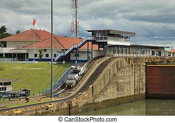 運河は締まる, パナマ