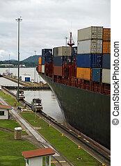 運河は締まる, パナマ, -, miraflores