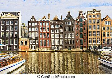 運河, アムステルダム