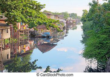 運河, タイ人