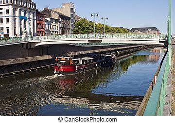 運河, ベルギー, charleroi, charleroi-brussels