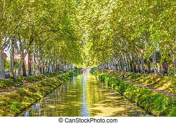 運河, midi, du, フランス