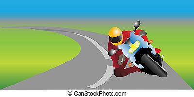 運転手, オートバイ