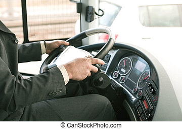 運転, バス