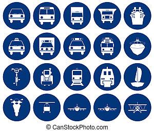 運輸, 圖象, 集合