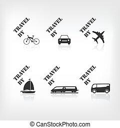 運輸, 圖象
