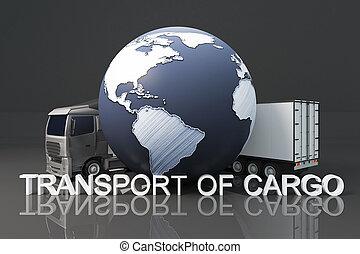 運輸, ......的, 貨物, 概念