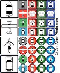 運輸, 符號