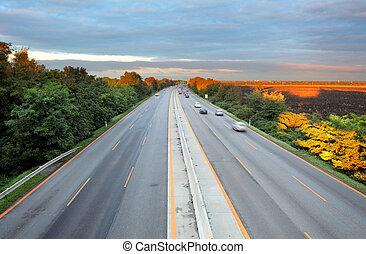 運輸, 高速公路