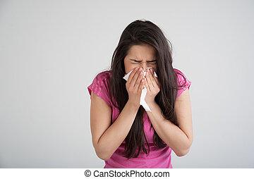 過敏, 冷, 流感