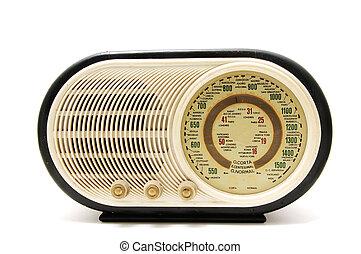 過時的收音机