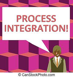 過程, 分享, 相片, 事務, bubble., 過程, 正文, 顯示, 在之間, 簽署, integration., 談話, 演說, 空白, 概念性, 商人, 微笑, 長方形, 數据, 事件, 顏色