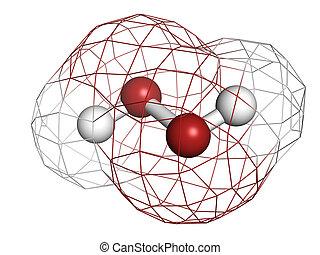 過酸化物, 水素, (h2o2), 分子