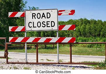 道は 閉まった, 障壁