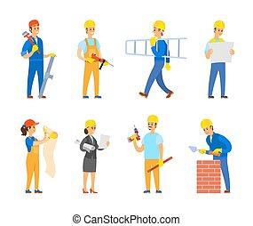 道具, エンジニア, 建築者, 道具