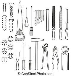 道具, 仕事, ハンドセット