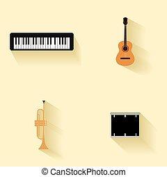 道具, 抽象的, 音楽