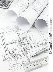 道具, 計画, 建築である