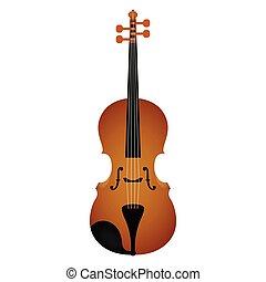 道具, violin., 隔離された, ミュージカル