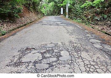 道, つぼ穴