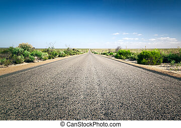 道, へ, 地平線