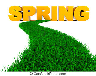 道, へ, 春