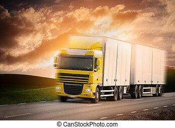 道, トラック