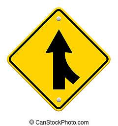 道, 併合の印, 白
