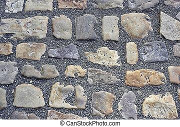 道, 石, 砂利, 舗装