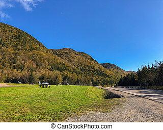 道, 高地, ブルターニュ語, cabot, nova, 前方へ, scotia, 国民, 景色, 岬, 公園