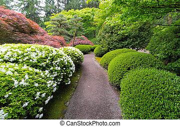 道, stroling, 日本の庭