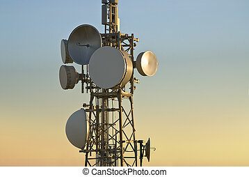 遠距離通信タワー