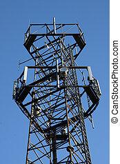 遠距離通信, 中継器 タワー