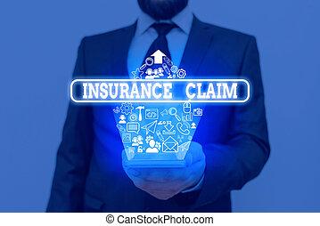 適用範囲, 執筆, テキスト, 保険, 損失, カバーされた, event., 概念, 戦略, 意味, 補償, ∥あるいは∥, claim., 手書き