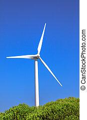 選択肢, タービン, エネルギー, 風