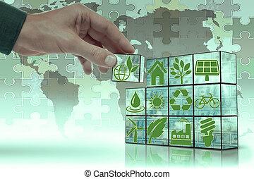 選択肢, 概念, ゲーム, ブロック, エネルギー