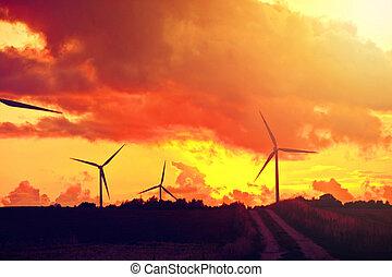 選択肢, windmills., energy.