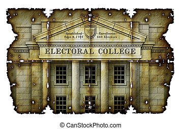 選挙 大学, 羊皮紙, 骨董品