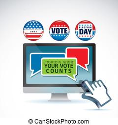 選挙, 大統領である