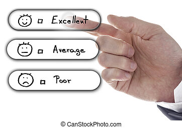 選擇, 好极了!, 上, 顧客服務, 評估, 形式