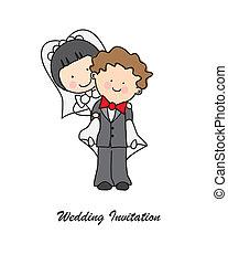 邀请, 婚礼