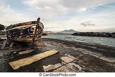 那不勒斯的海灣