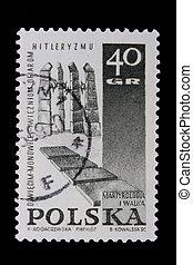 邮票, 波兰, -, 1967:, nazism, circa