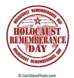 邮票, rememberance, 大屠杀, 天
