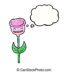 郁金香, 花, 卡通
