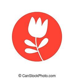 郁金香, 花, 自然, 圖象