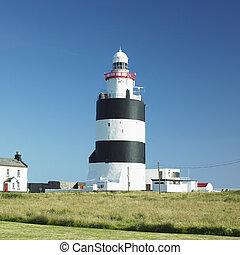 郡, ホック, アイルランド, 頭, wexford, 灯台